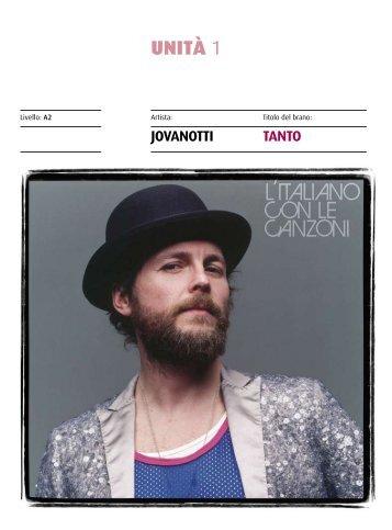 Unità 1 - Jovanotti pp. 17-28 - Guerra Edizioni