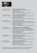 SBW Haus des Lernens AG Öffentliche Vortragsreihe - Seite 3