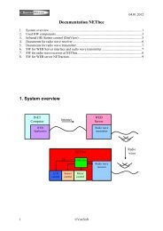 Documentation NETbee 1. System overview