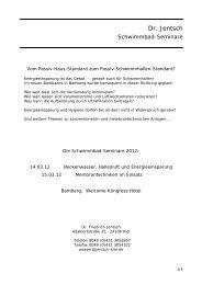 Jentsch Seminar 2012 - WET GmbH
