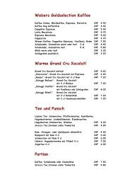 Speisekarte klein - Cafe-weber.ch