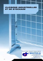 flexistore cloisons industrielles et de stockage