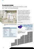 flexistore cloisons industrielles et de stockage - Page 5