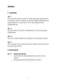 Statutenausdruck im PDF Format - Cercle des Chefs de Cuisine St ...