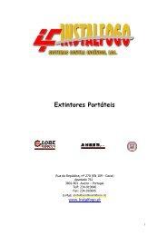 Extintores sobre rodas - Globalconstroi