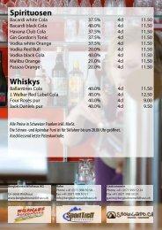 Spirituosen Whiskys