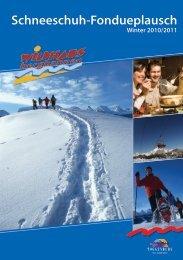 Schneeschuh-Fondueplausch 2010/2011