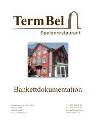 Menüvorschläge - termbel.ch