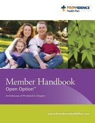 Member Handbook - Providence Health Plan - Providence Health ...