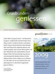 Graubünden - Wein Fläsch