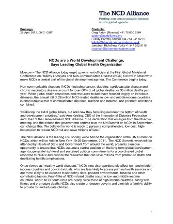 NCD Alliance Press Release.pdf