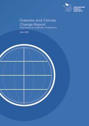 Diabetes and Climate Change Report - International Diabetes ...