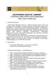 California Digital Library - Fidkar