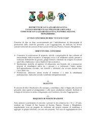 """Avviso concorso di idee """"Ci fai e ci sei"""" - Comune di San Lazzaro di ..."""