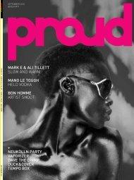 Ganz neu in unserem Sortiment: die Zukunft. - proud magazine