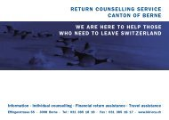 return counselling service canton of berne we are here to ... - kkf oca