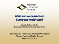 What can we learn from European healthcare? - IEDM