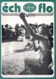 N° 4- NOUVELLE SERIE - JANVIER 1973 - TRIMESTRIEL ...