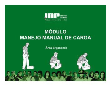 Manejo manual de carga - TweetCube