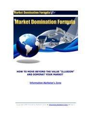 introducing the market domination formula - TweetCube