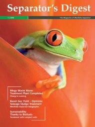 Separator's Digest 2008/1 - GEA Westfalia Separator Group