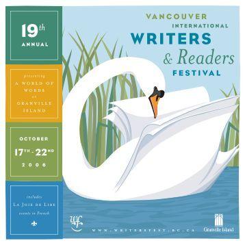 2006 Program - Vancouver International Writers Festival
