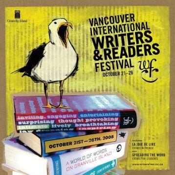2008 Program - Vancouver International Writers Festival