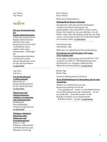 Top-Thema Top-Thema Die neue Kommentierung der ... - Spitta