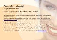 DemoBox dental - Spitta