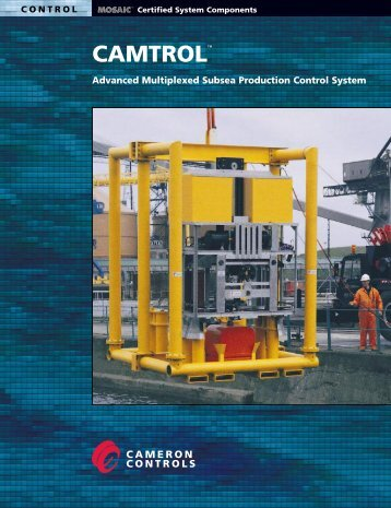Advanced Multiplexed Subsea Production Control System - cedip