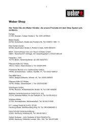 Weber Shop - Weber-Stephen