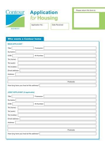 Contour Application for Housing.qxd:Layout 1 - Contour Homes
