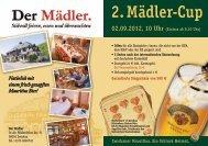 2. Mädler-Cup 02.09.2012, 10 Uhr - Sächsischer Skatverband - DSkV