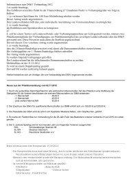 Informationen zum DSkV Verbandstag 2012. 1.es wurde beantragt ...
