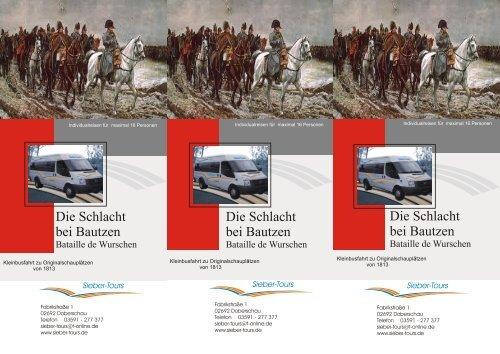Kleine Flyer Napoleon 1813 2013 web - Sieber-Tours