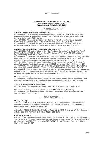 parte3-d - Università degli Studi di Trento