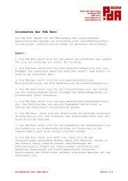 Grundsätze der PdA Bern