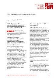 Auch in der BRD wurde zuerst die FDJ verboten« - PdA Bern