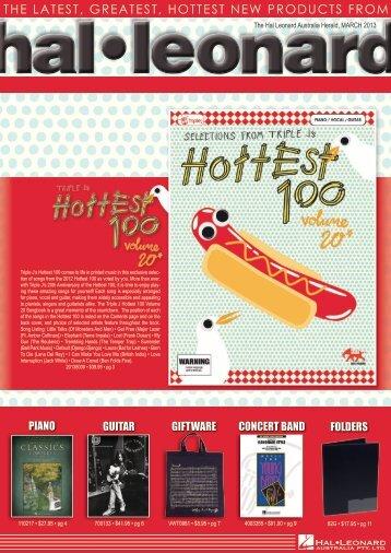 March - Hal Leonard Australia
