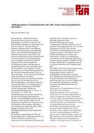 Bedingungsloses Grundeinkommen für alle» heisst sich ... - PdA Bern