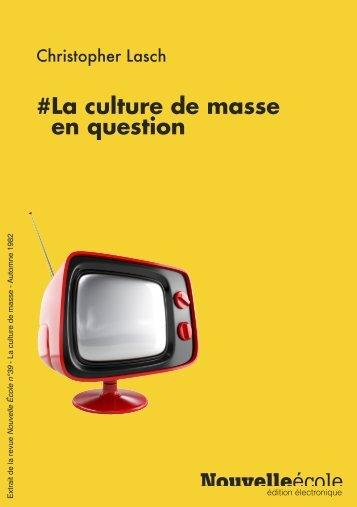 la-culture-de-masse-lasch
