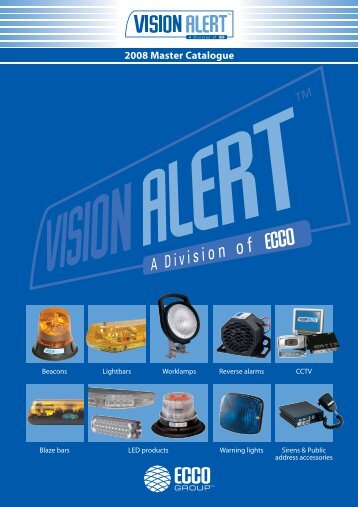 2008 Master Catalogue - Visionalert.nl