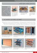 FACHRAUMAUSSTATTUNG FACHRAUMAUSSTATTUNG - WeBa - Seite 7