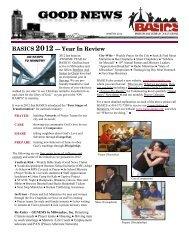 BASICS Newsletter Winter 2012 - Dave Brooks Family Website