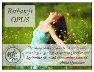 my OPUS - The Deeper Path