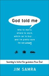 God told me - Baker Publishing Group