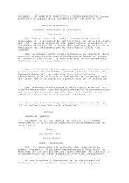 reglamento a ley organica de servicio civil y carrera administr