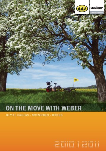 ON THE MOVE WITH WEBER - Weber Technik GmbH
