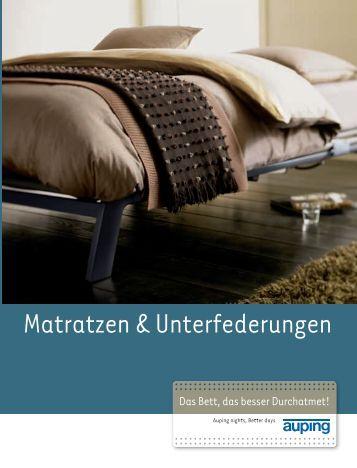 Matratzen ¿ Unterfederungen - webBett