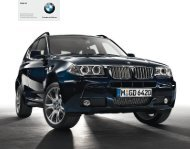 BMW X3 Edition Exclusive Edition Lifestyle Limited Sport Edition ...